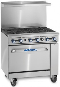 Imperial_Range_IR-6_Commercial_36_Gas_6_Burner_Restaurant_Range_With_Standard_Oven-use